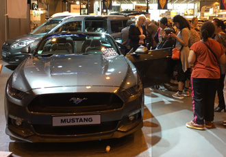 Mustang Autonomic Paris