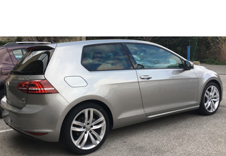 VW Golf VII amenagement handicap